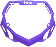 Box Two Number Plate Purple/Large