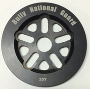 BULLY NATIONAL GUARD SPROCKET 25t/Black