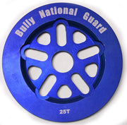 BULLY NATIONAL GUARD SPROCKET 25t/Blue