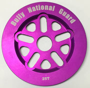 BULLY NATIONAL GUARD SPROCKET 25/Purple