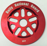 BULLY NATIONAL GUARD SPROCKET 25t/Red