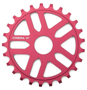 CINEMA REWIND SPROCKET 25t Red