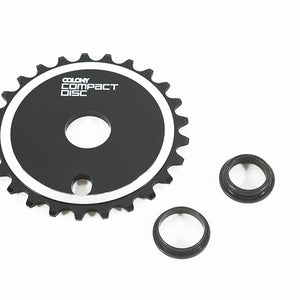 Colony CD Sprocket in black at Albe's BMX online