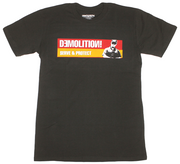 Demolition Serve & Protect T-Shirt Black/Red/Yellow - Small