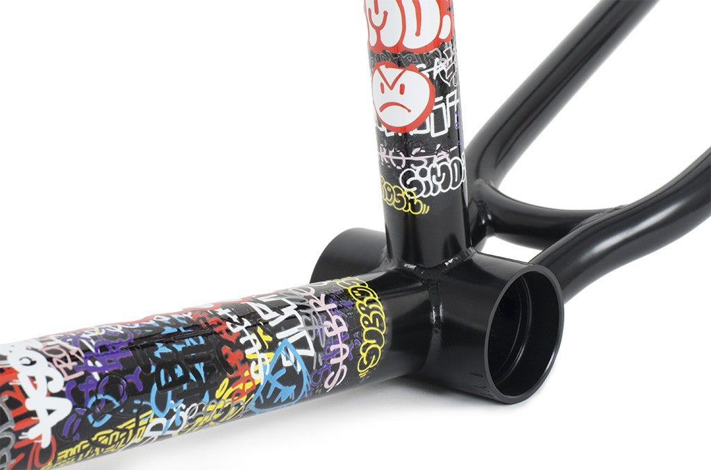Subrosa Simo Frame in Black at Albe's BMX Online