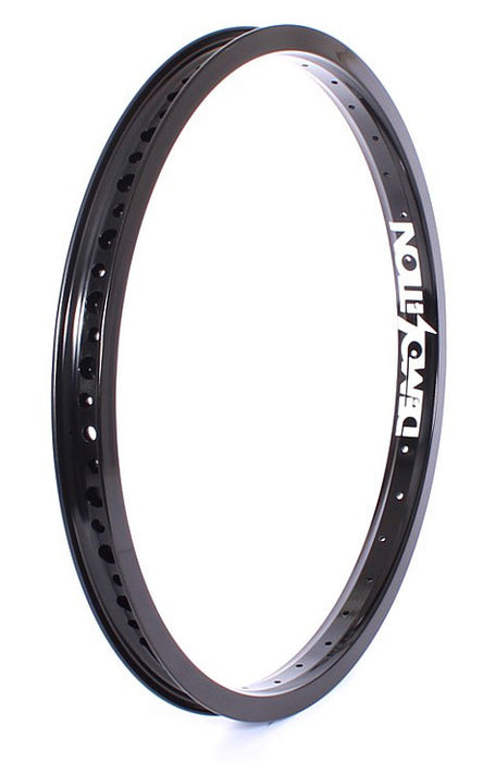 "Demolition Zero 18"" Rim in black at Albe's BMX Online"