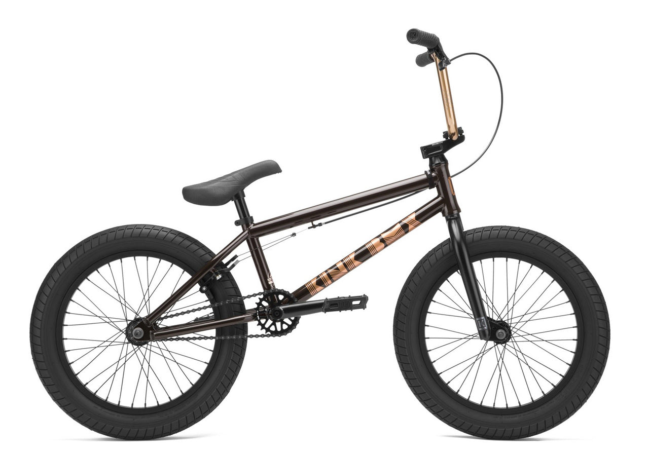 "Kink Kicker 18"" Bike 2021 in black at Albe's BMX Online"