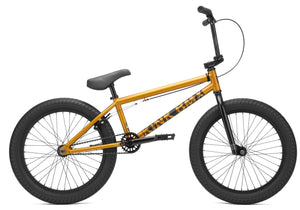 Kink Curb Bike 2021 bike in orange at Albe's BMX Online