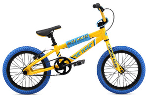 "SE Bikes Lil Flyer 16"" Bike 2020 in yellow at Albe's BMX Online"