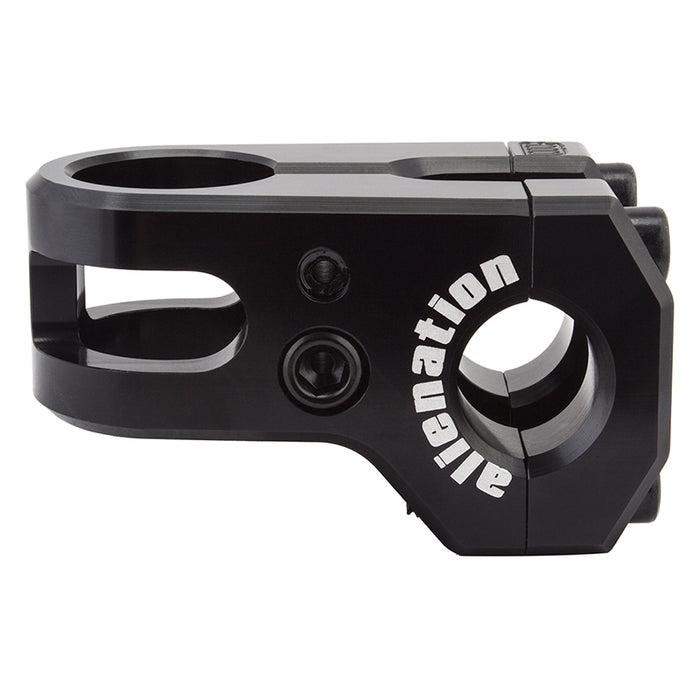 Alienation Iron Maiden Front Load Stem in black at Albe's BMX Online