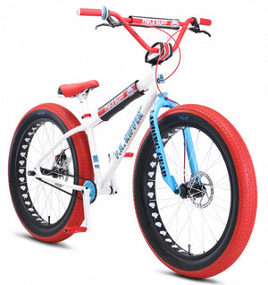 SE Bikes Mike Buff Fat Ripper Bike in white at Albe's BMX Online