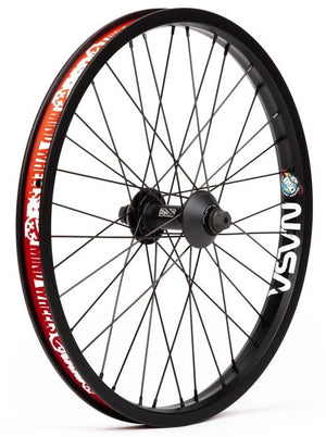 BSD Front Street Pro Mind Wheel in black color at Albe's BMX Online