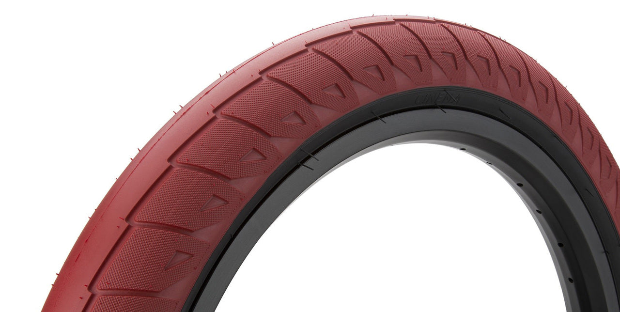 Cinema Williams Tire in red color at Albe's BMX Online