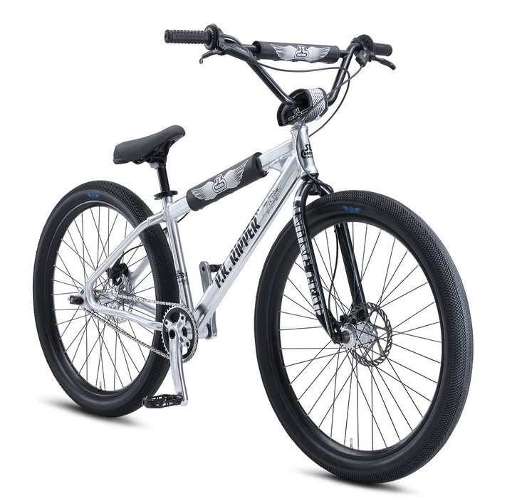 SE Bikes Perry Kramer PK Ripper 27.5 Bike in polished at Albe's BMX Online