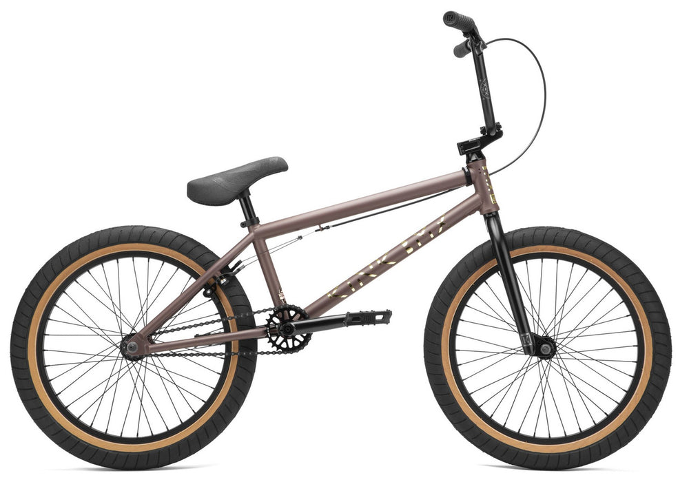 Kink Launch Bike 2021in Truffle Brown at Albe's BMX Online
