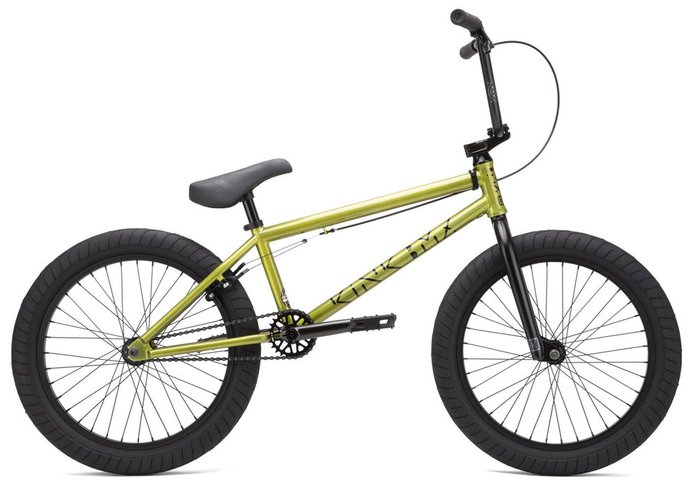 Kink Launch Bike 2021in Digital Lime at Albe's BMX Online