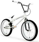 Elite BMX Destro Bike 2020 White/Chrome - 20.5
