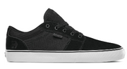 Etnies Barge LS Shoe (Black/White/Black) Size 8