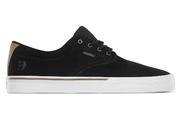 Etnies Jameson Vulc Shoes (Black/White/Silver) Size 8