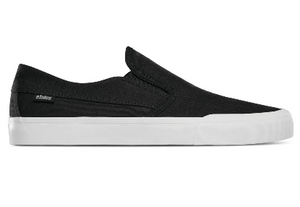 Etnies Langston Slip On Shoe (Black/White/Gum)