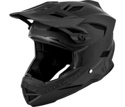Fly Racing Default Youth Full Face Helmet Black/Grey - Youth Medium
