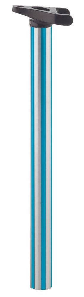 Haro Lineage Tripod fluted post in teal at Albe's BMX