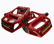 Alloy Platform Pedals Red