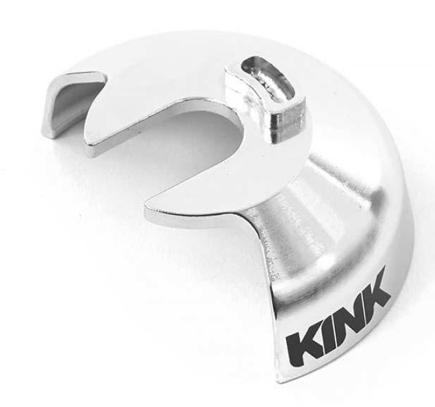 Kink Universal Cog Guard in Chrome at Albe's BMX Bike Shop