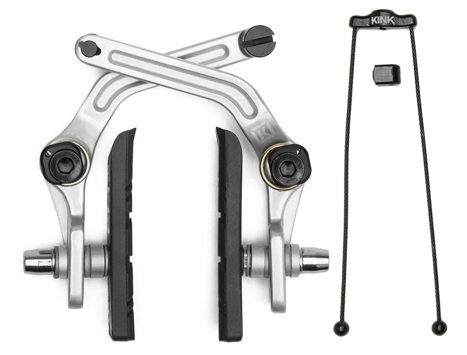 Kink Desist Brake in Silver at Albe's BMX Bike Shop