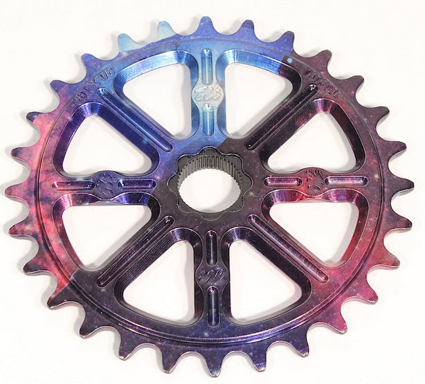 Madera Helm Sprocket in Celestial colorway at Albe's BMX Bike Shop