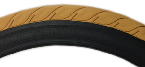 Merritt Option Tire in Gum at Albe's BMX Bike Shop Online