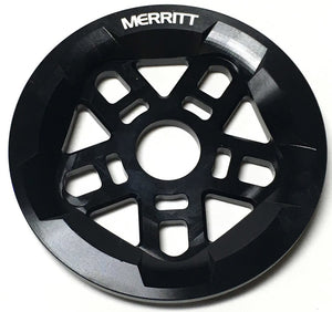 Merritt Pentaguard Sprocket in Black at Albe's BMX