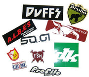 BMX STICKER PACK (10 stickers) random brands