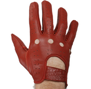 Odyssey Mike Aitken Hell Bent Gloves Dark Red - Small