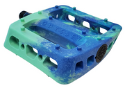 ODYSSEY TWISTED PRO PC PEDALS Toothpaste/Navy Swirl - 9/16