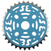 SE Bikes Alloy Sprocket Baby Blue/Silver - 33T