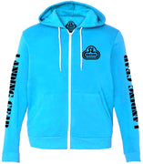 SE Bikes Zip-Up Sweatshirt Blue/Small