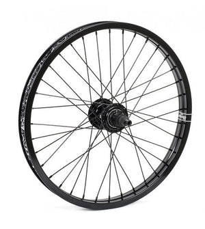 Shadow Optimized Freecoster Rear BMX Wheel In black at Albe's BMX Bike Shop