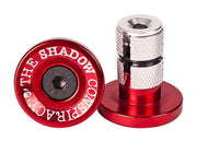 SHADOW CONSPIRACY DEADBOLT BAR ENDS Red