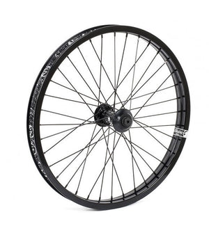 Shadow Symbol Front wheel in Black at Albe's BMX Bike Shop