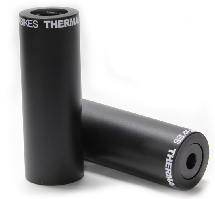 Stolen Silencer BMX Pegs in Black Color at Albe's BMX