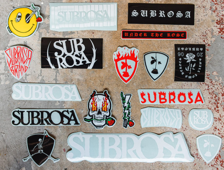 Subrosa Sticker Pack