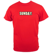 Sunday x Baker T-Shirt Red/Small