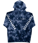 Sunday Rockwell Box Pullover Hoodie Tie-Dye Navy/Medium