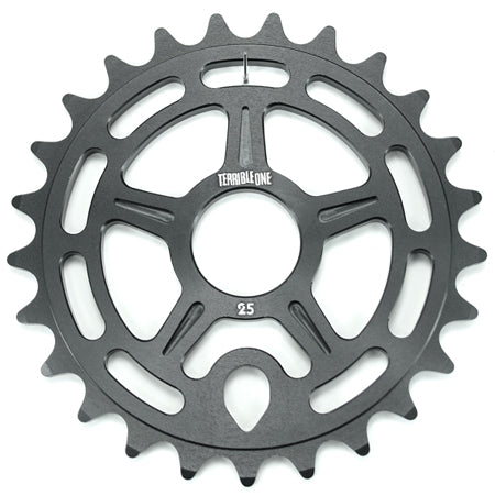 Terrible One Logan Run Sprocket in black at Albe's BMX Bike Shop Online