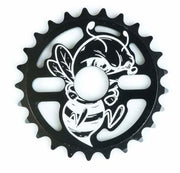 Total BMX Killabee Sprocket Black/White / 25T