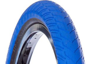 Volume Bikes Vader Tire in Blue at Albe's BMX Bike Shop