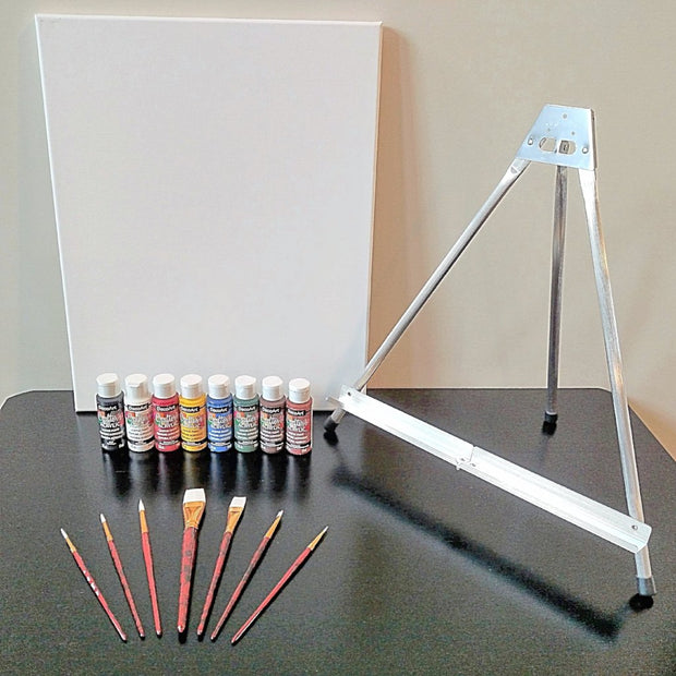 Starter Supply Package with 2 Canvases