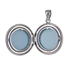 Sterling Silver 20mm Round 'Tree of Life' Locket - Karlen Designs