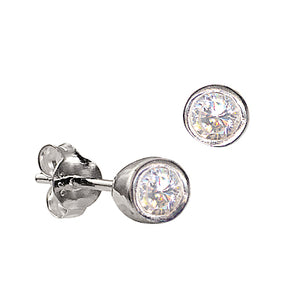 9ct white gold Diamond Studs - Karlen Designs